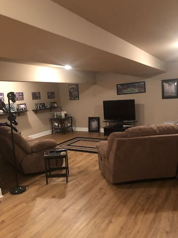 Entire basement - 2 bedrooms