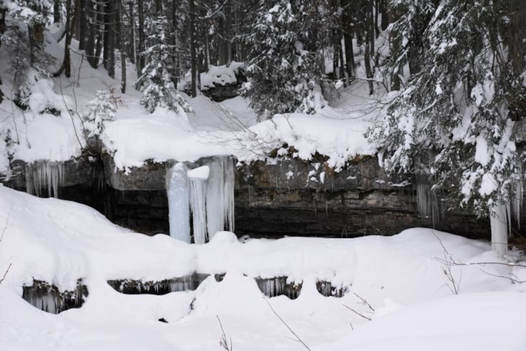 der eiskalte Winter - im Schiegebiet