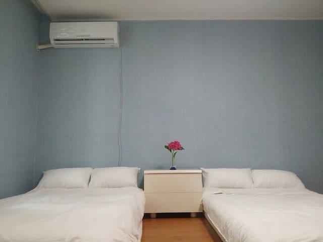 전주한옥마을 15분 레일바이크전주역 5분 57평 아파트 개인실 - Deokjin-gu, Jeonju-si - Leilighet