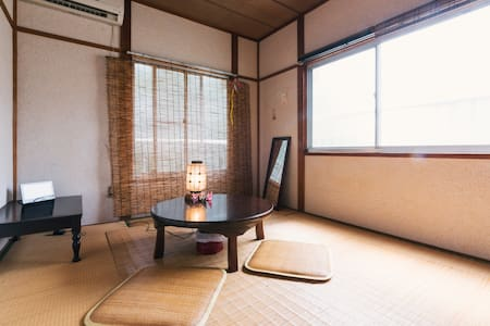 Free portable wifi☆17min from Hakata st☆Two people - Hakata-ku, Fukuoka-shi - Daire