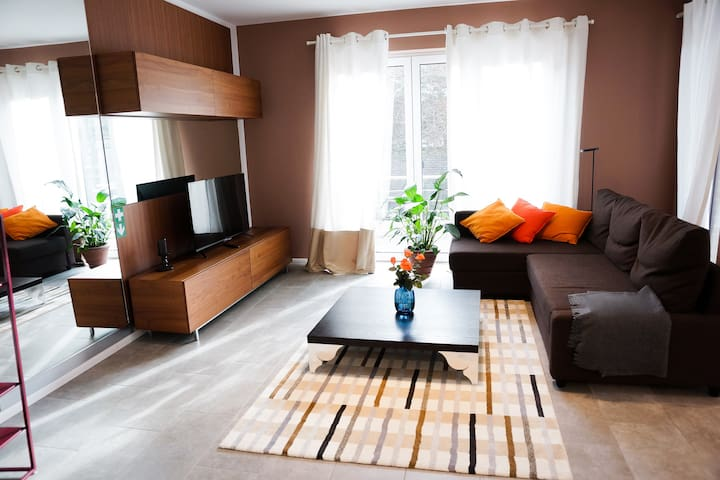 #2 Luxury apartment for 2+2+2 persons (3 ROOMS!)