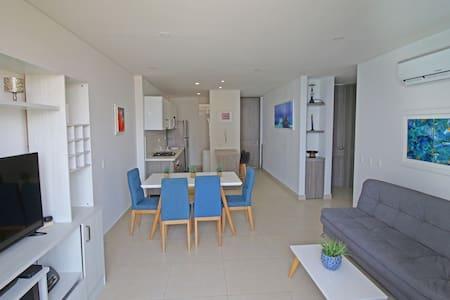 Hermoso apartamento en rodadero sur playa salguero