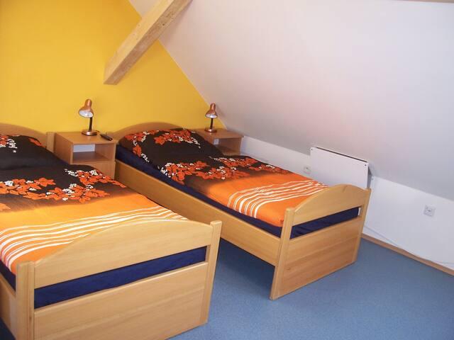 Apartmán u řeky ve kterém se budete cítit dobře - Holasice - Loft