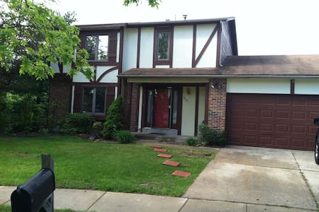 beautiful two floor house in st louis county - Florissant - Hus