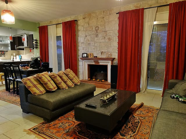 Ground floor - Living room, dinning area & kitchen