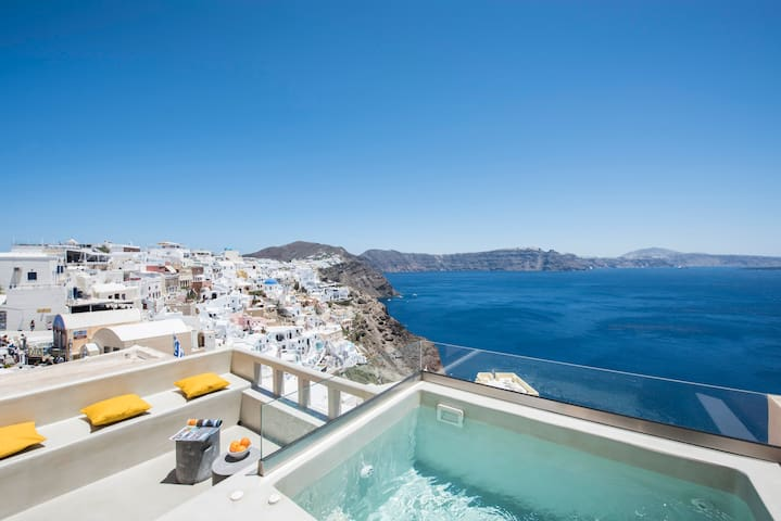 The 'Top Caldera view' villa in Oia - Ia - Villa