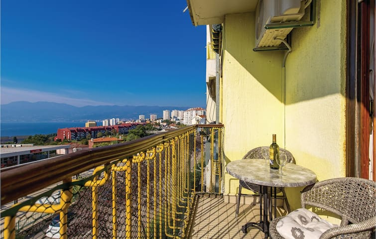 Holiday apartment with 1 bedroom on 42m² in Rijeka