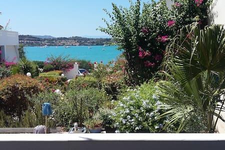 Pink villa - 2 bedroom with sea view in Porto Heli - Porto Cheli - Willa
