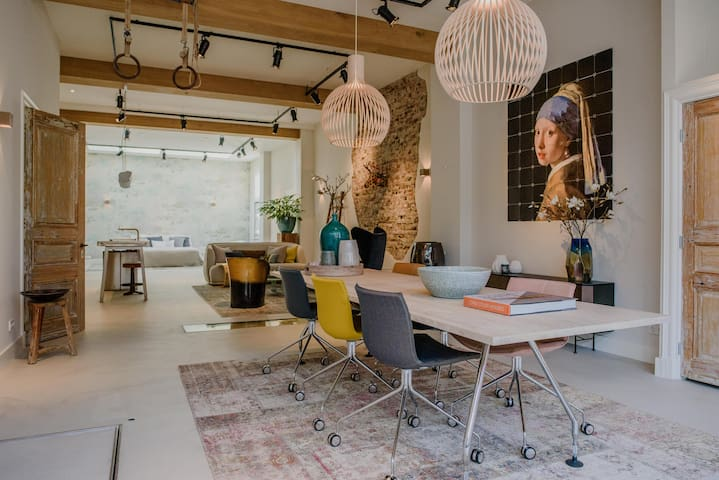 Unique design loft for couples (romantic citytrip) - Nijmegen - Maison