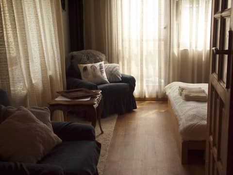 Cozy & convenient studio in a family house 2
