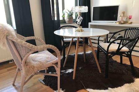 NEU!! Stylisches & gemütliches Studio in Top-Lage - 莱比锡 - 公寓