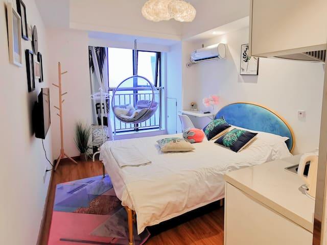 万达茂中心A座精装吊椅浪漫小公寓