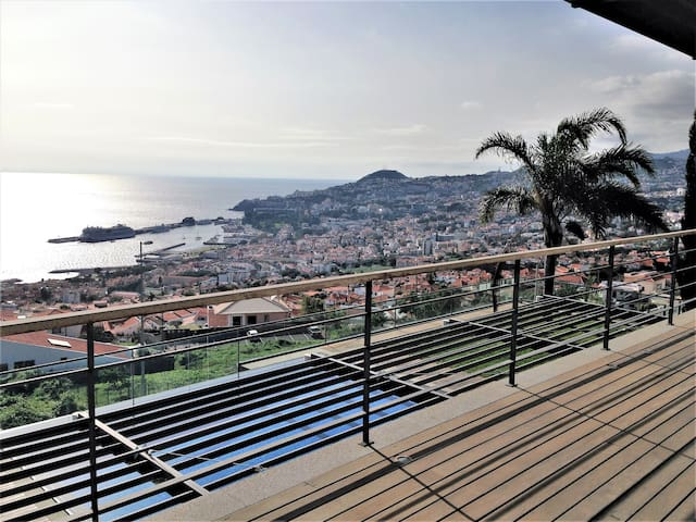 Frist Floor Terrace - View from the Bedroom´s @Villa Cary