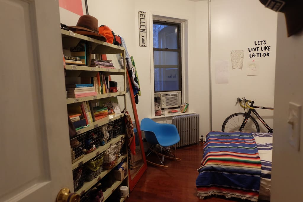 The room! Plus the bike you could ride!