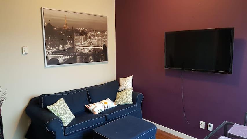 New 1 bedroom condo near Sky Train station