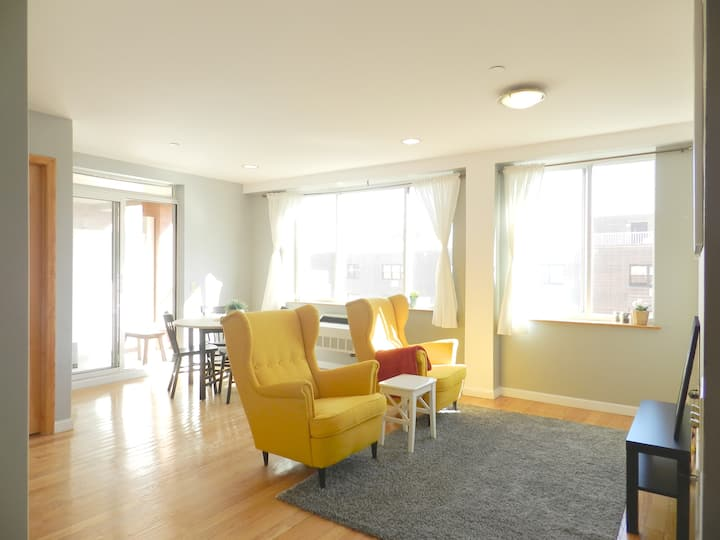 Amazing 3BR Apartment Near LGA, UN Midtown.