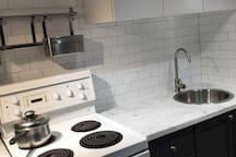 Cozy bachelor basement apartment