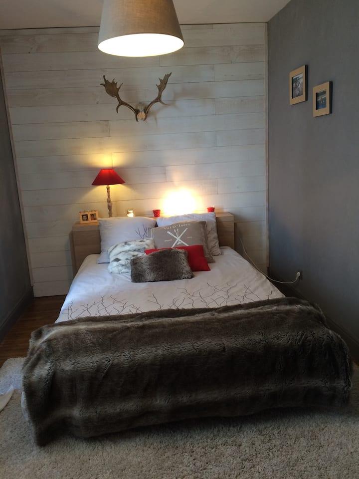 chambre privée dans maison charentaise de charme