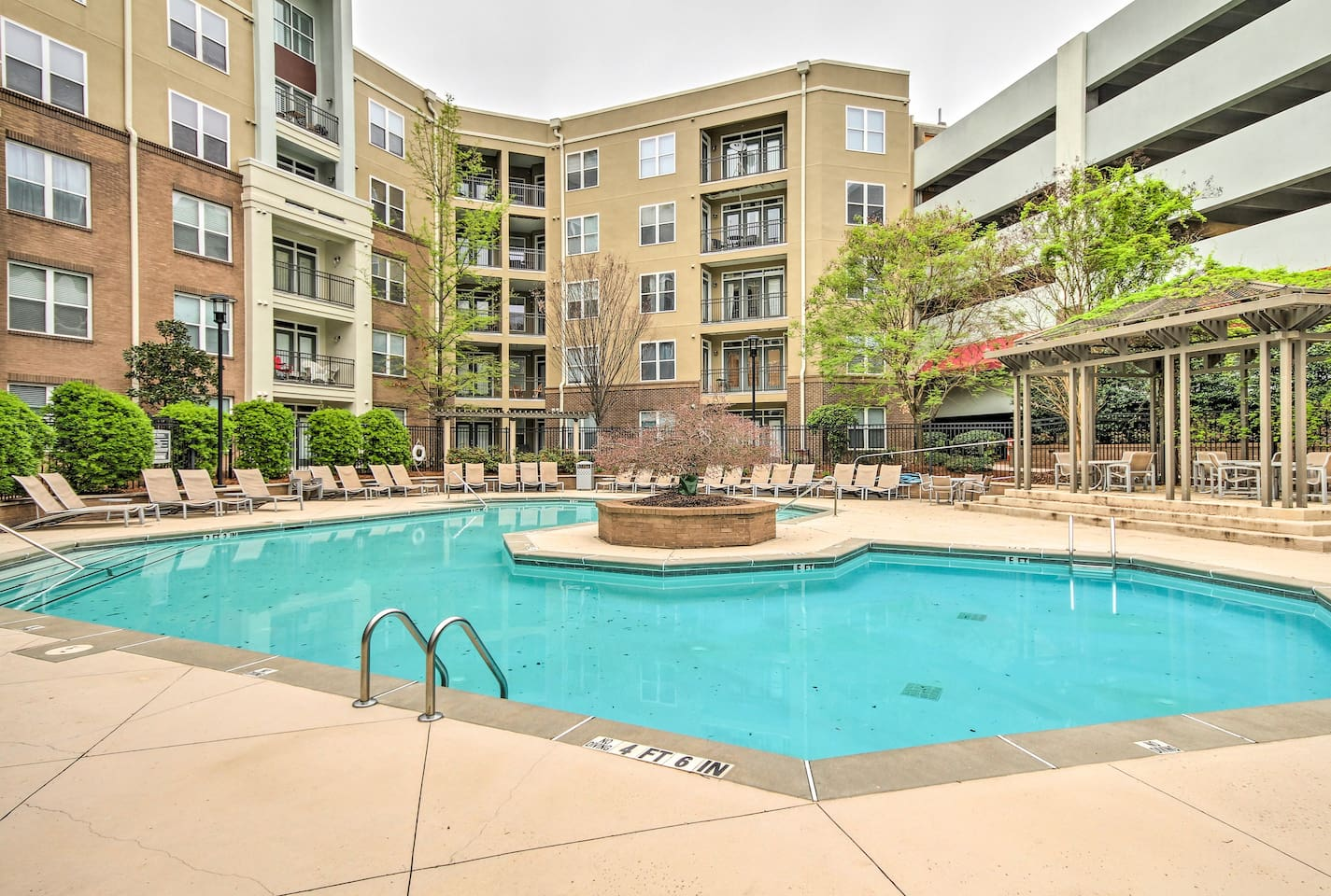 Elevate your trip to Atlanta at this 1-bedroom, 1-bath vacation rental condo.