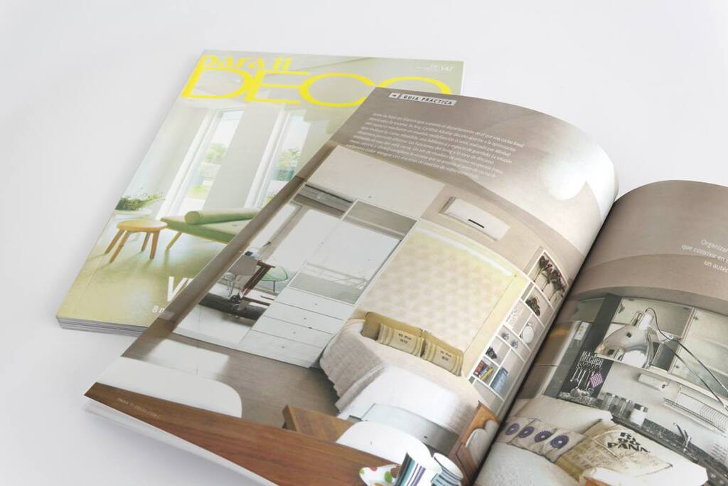 Awarded apartment. Appears in Decoration magazines