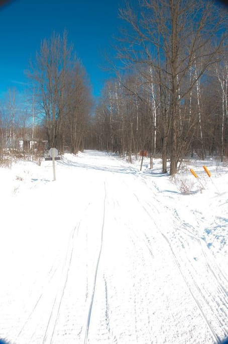 Tuscobia State Trail, perfect for hiking, snow-mobiling, and ATV/UTV use.