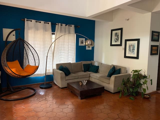 Beautiful 3bed/3bath vacation home in Siolim, Goa