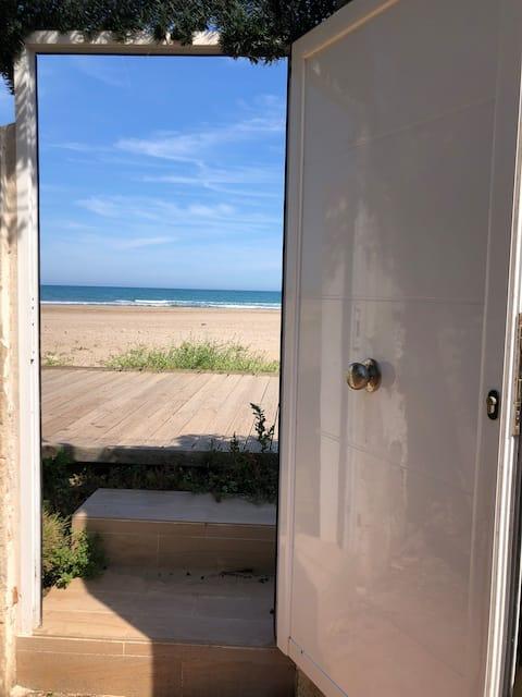 Chalet Mamalú. Acceso directo playa puig.