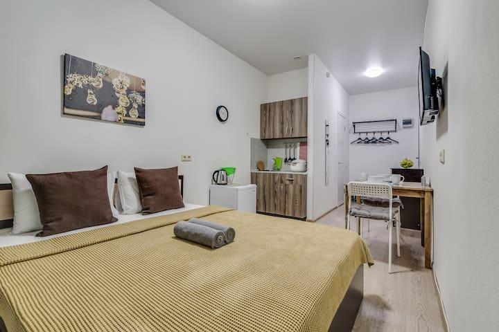 Апартаменты «Две Подушки» на ул. Коли Томчака