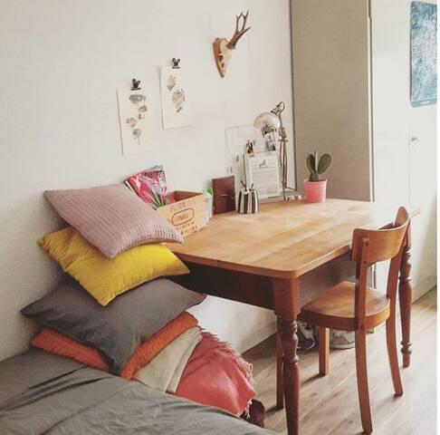 Vintage-Zimmer in der Neustadt - zentral gelegen!