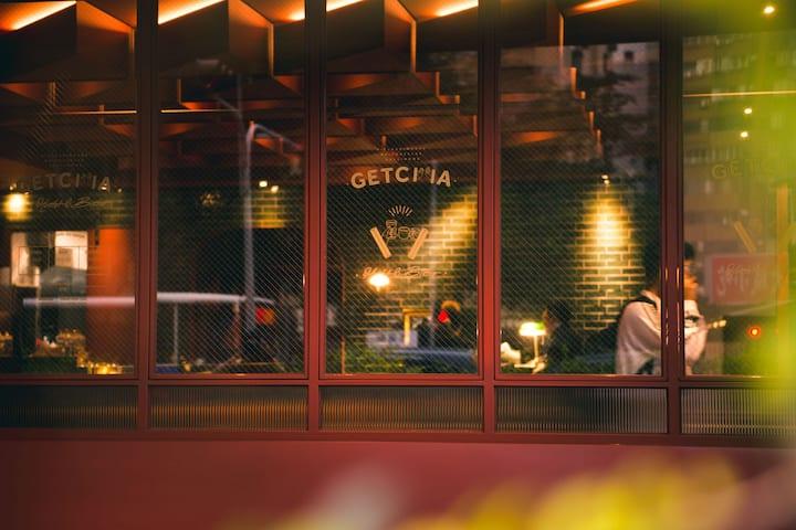 GetCha Hostel&Bistro - 4床混合房  C [ 結合餐酒館及住宿的複合型旅店 ]
