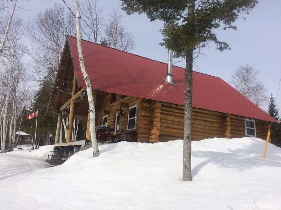 A great destination for snowmobilers.