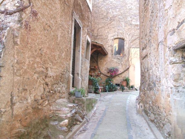 maison ancienne de charme à Ceps - Roquebrun - Casa