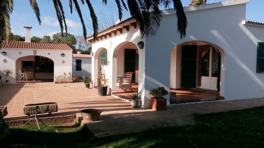Doble Room in Country House - Ciutadella de Menorca - Dağ Evi