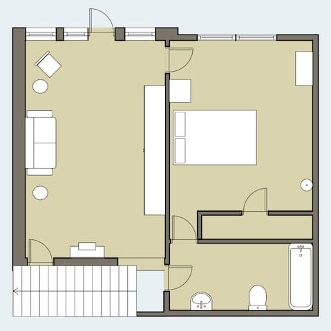 Guest Quarters Floor Plan