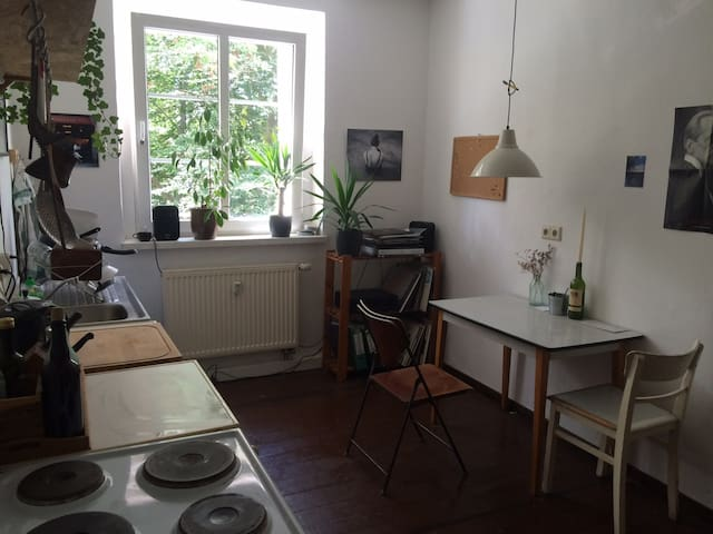 45 m² cosy rustical flat in the edge of neukölln - Berlino - Appartamento