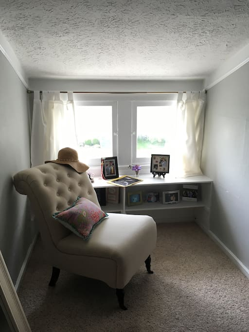 Reading nook upstairs