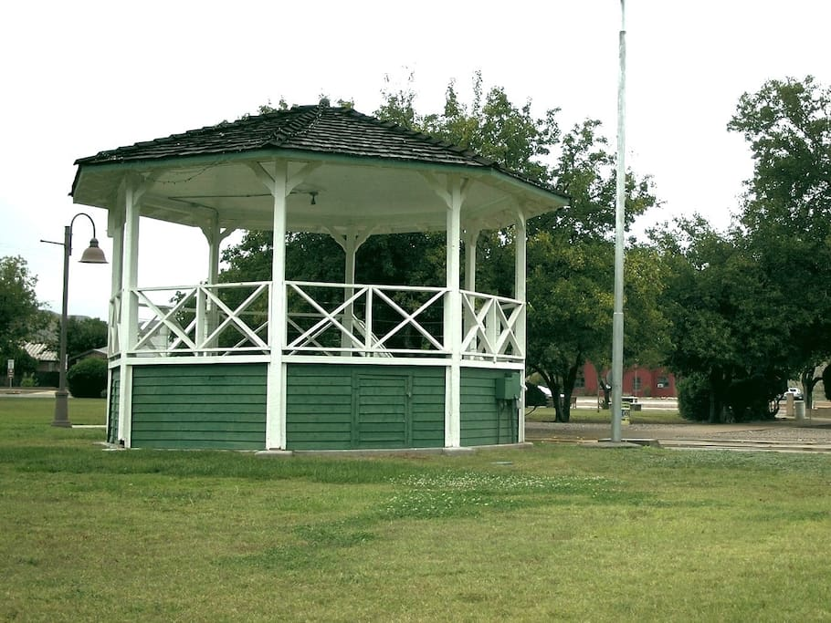 Gazebo in the old Clarkdale Town Park across the street.