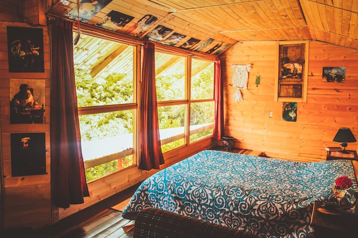 Cabaña Refugio en la Montaña