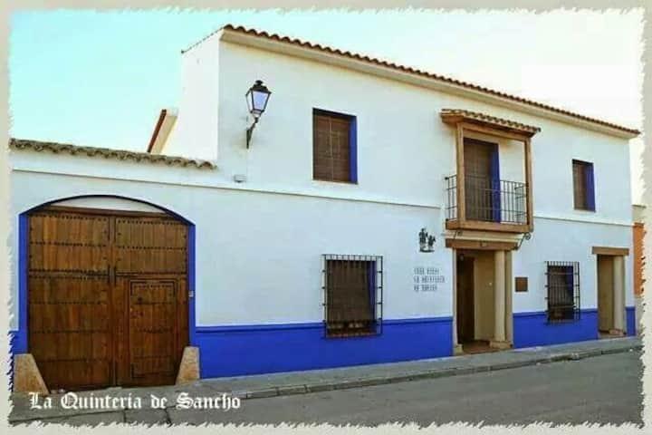 Casa Rural La Quintería de Sancho PISCINA COMPARTI