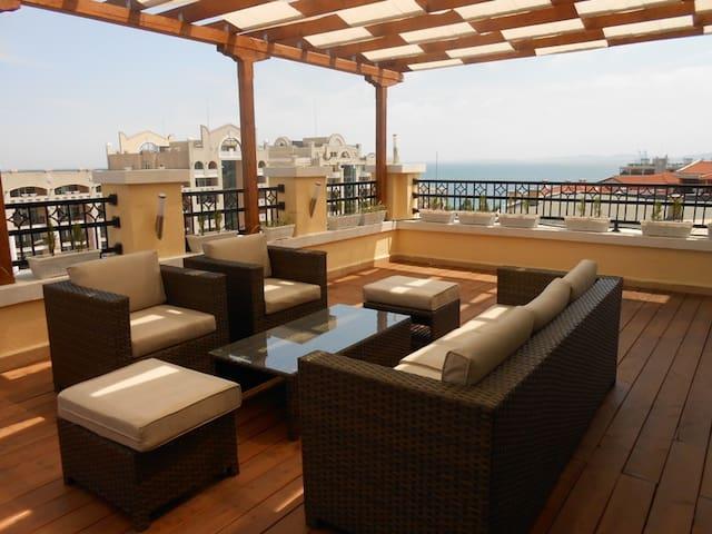 Penthouse G5-43 - Sunset Resort - Pomorie - Apartment