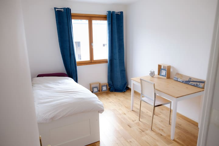 One bedroom available in a cosy 2 BR apartment - Annecy - Apartament