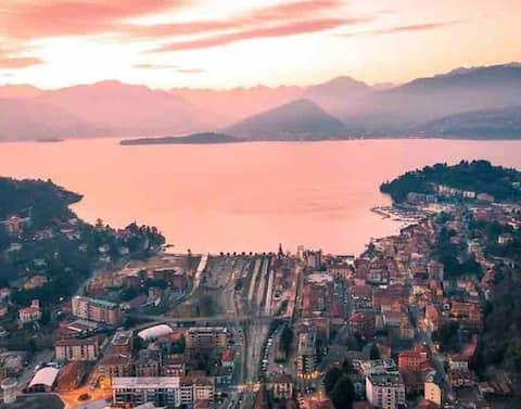 Tatil evi Laveno Mombello - Maggiore Gölü