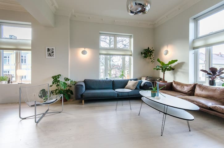 Spacious and modern design apartment in Majorstuen - Oslo - Appartement