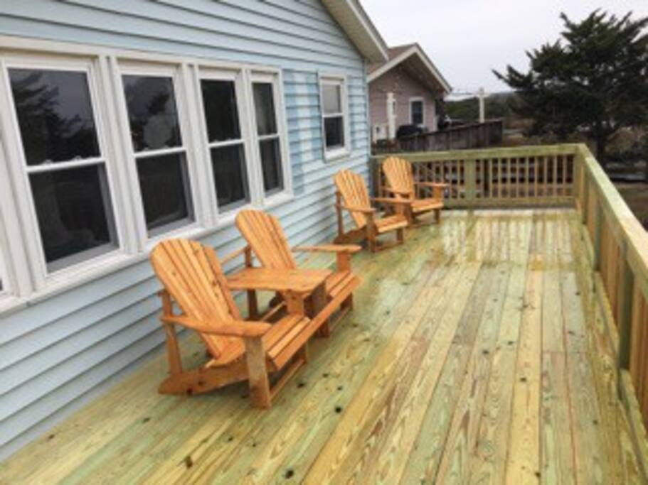 Oceanside cottage in hatteras mermaid by the sea for Hatteras cabins rentals