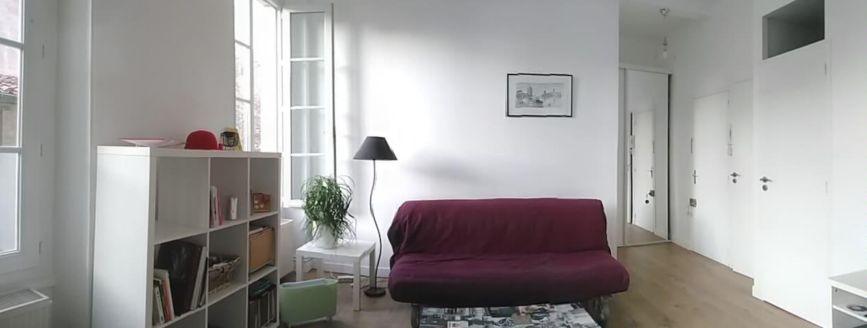 T2 au pied de la cathédrale - Poitiers - Apartmen