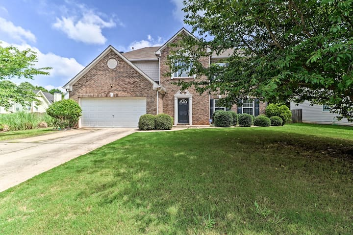 NEW! Family Home, 23Mi to DWTN Atlanta & Aquarium
