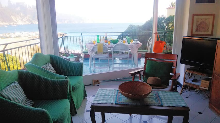 FAMILY BEACH HOUSE IN MONTEROSSO, THE STORK