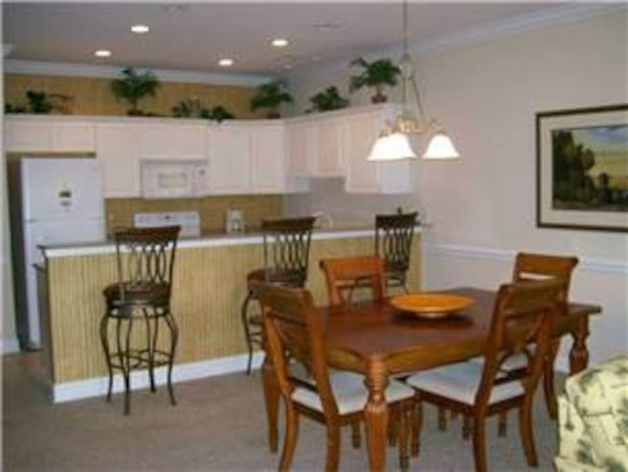 Open concept for family and friends gatherings