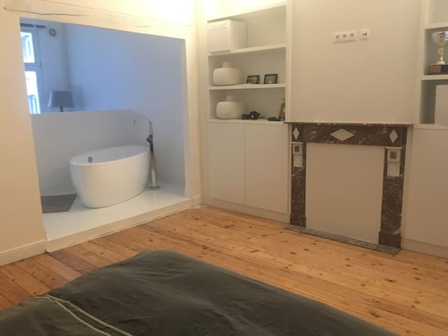 Cosy house (4-7p) or rooms (1-3p) in Antwerp