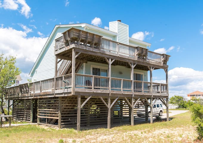 D0224 Myra Dee. Semi-Oceanfront, Great for Small Families, 20 Yards to Beach   4 Bedroom, 2 Bathroom